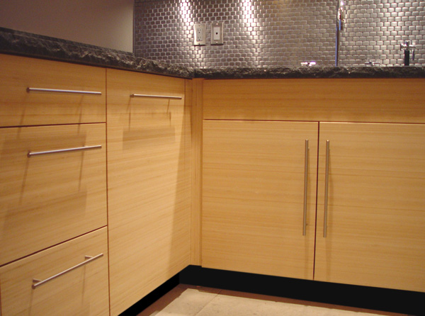 Bamboo cabinets by altereco pioneers in modern bamboo for Bamboo kitchen cabinets